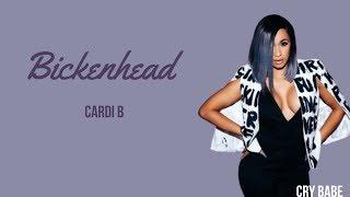 Cardi B Bickenhead LYRICS.mp3