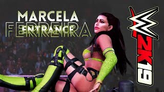 WWE 2K19 | Marcela Ferreira enters TKS Aftershock season 5