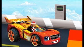 Blaze Race the Skytrack (Вспыш и чудо-машинки: Небесная гонка)