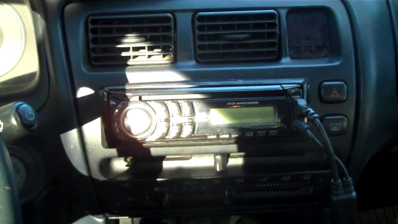 1996 Honda Civic Radio Wiring Diagram Radio Removal Install Toyota Corolla Youtube