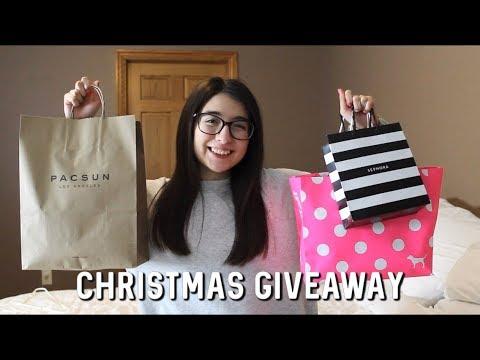 Download Christmas Giveaway   Brandy Melville, Sephora, Pink, Vans
