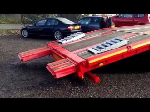 Sloper low loader/ Recovery trailer for sale - YouTube