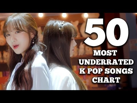 50 Most Underrated K Pop Songs Chart (May 2018 - Week 2)