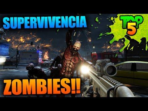 Top 5 Juegos Supervivencia Mundo Abierto Zombies Online Gratis
