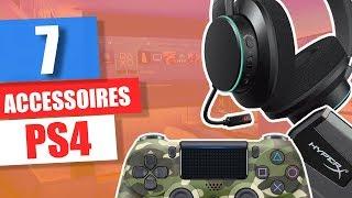7 ACCESSOIRES COOL POUR LA PS4 ! 2019