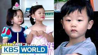 Hilarious Daebak's reaction to his sisters' princess makeover! [The Return of Superman / 2017.07.16]