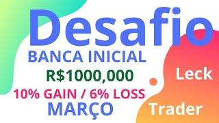 SÉRIE 10% AO DIA COM BANCA DE R$1000