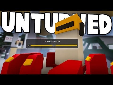 Unturned 3.14.13.0: Fuel/Water Reserves & Tank Traps!!!