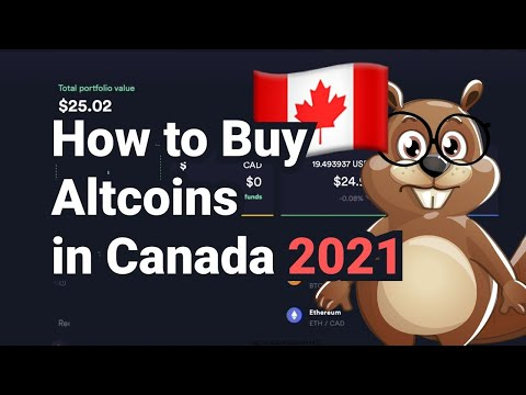 How to Buy Altcoins in Canada 2021