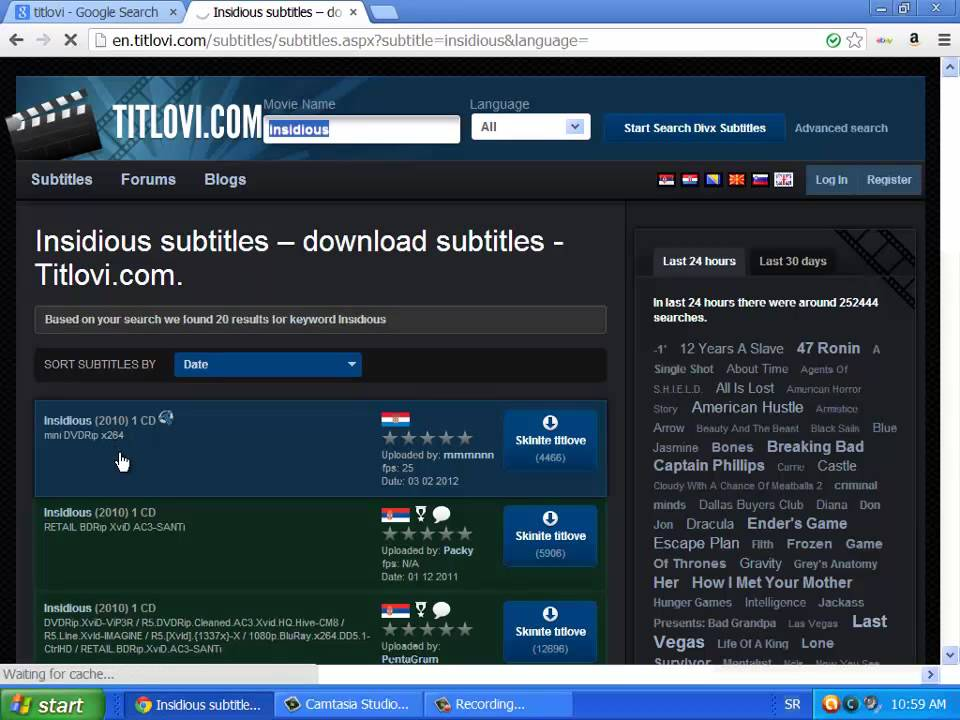 How to download subtitle for movie and how to extract it