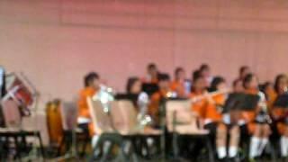 (Concert Aleatovy 2009) Yusof Ishak Secondary School NPCC Band - Caribbean Dreams