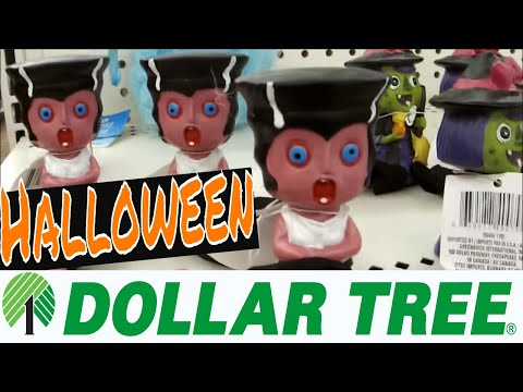Dollar Tree HALLOWEEN 2017 Shop with Me!