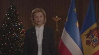 Новогоднее обращение Башкана Гагаузии Ирины Влах 2017