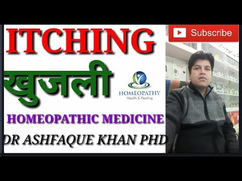 Itching and its symptom based homeopathic medicines.