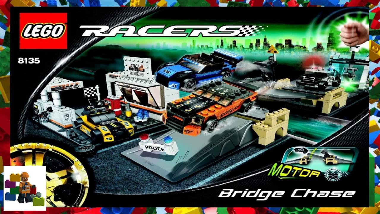LEGO instructions - Racers - 8135 - Bridge Chase - YouTube