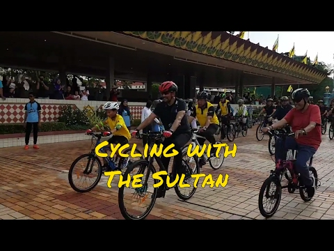 #NBD33 Cycling with the Sultan of Brunei | 20-26 Feb - VLOG 21 | @marul69