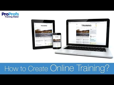 How To Create Online Training
