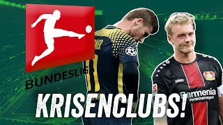 Die Krisenclubs! Woran hängt es bei RB Leipzig, Schalke 04 und Bayer 04 Leverkusen?