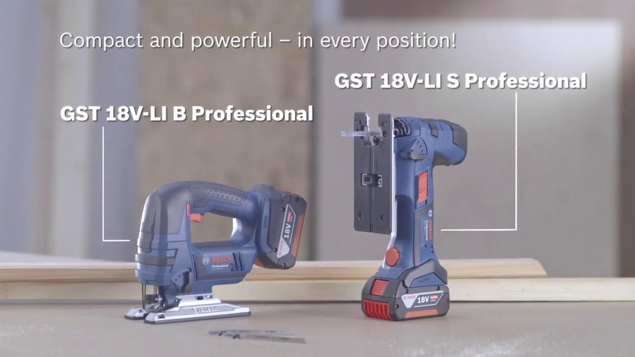 Bosch Stichsäge GST 18 V-Li S STAB SOLO in der L-Boxx Gr 2 06015A5101