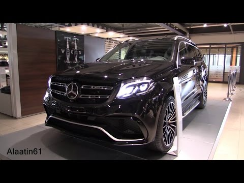 Mercedes-Benz GLS63 AMG 2017 GLS Class Start Up, Full In Depth Review Interior Exterior