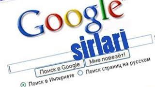 Google sirlari