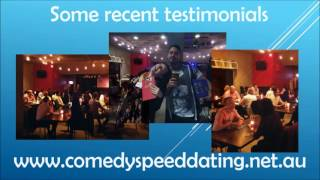 Comedy Speed Dating