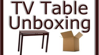 Unboxing My New Tv Table - Winsome Wood Linea Console Table