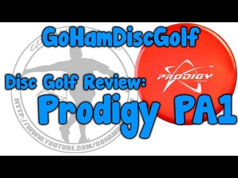 Disc Golf Review: Prodigy PA1