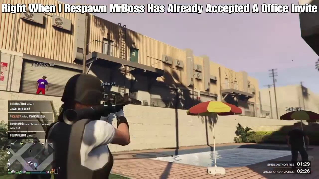 Download GTA V Online Killing MRBOSSFTW On His Live Stream From Jun 6, 2017 [Rage Quits 2x's]