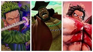 Jump Force - Luffy, Zoro and Blackbeard All Super and Ultimate Attacks