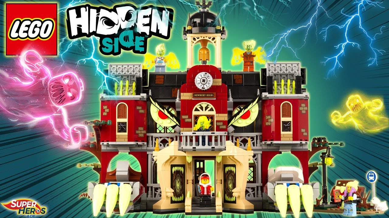 Lego Hidden Side 70425 L Ecole Hantee De Newbury Halloween Haunted