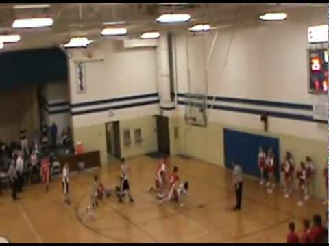 Blanchester Boys 8th grade basketball last minute shot