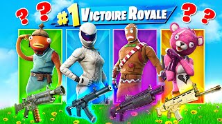 SKIN ALÉATOIRE CHALLENGE ! Défi FORTNITE Battle Royale