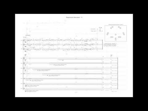 M.Viel - Responsorio Meccanico (excerpts w/ score)