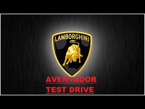 Lamborghini Aventador test drive