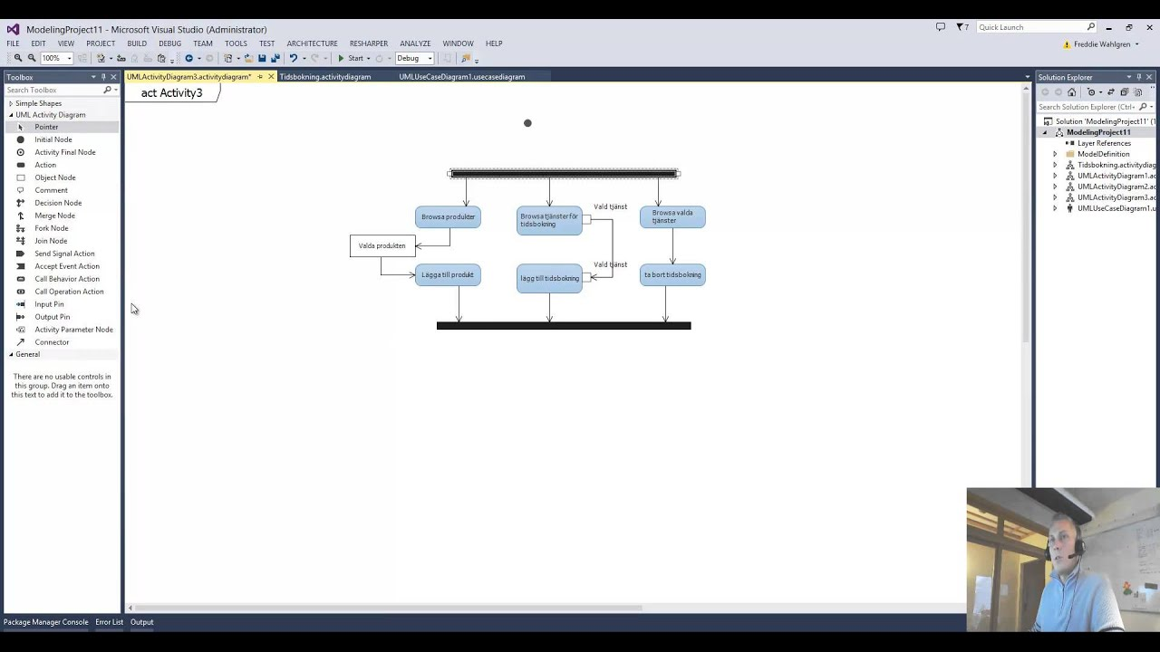 Activity Diagram In Visual Studio 2013 Ultimate