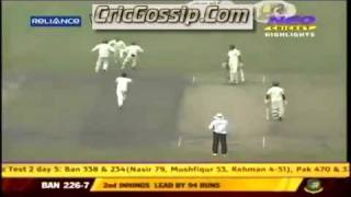 vuclip Younis Khan best catch at slip vs Bangladesh amazing