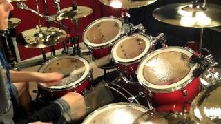 White Rabbit - Jefferson Airplane - Cover by Daisy Bellis - COOP3R Drums