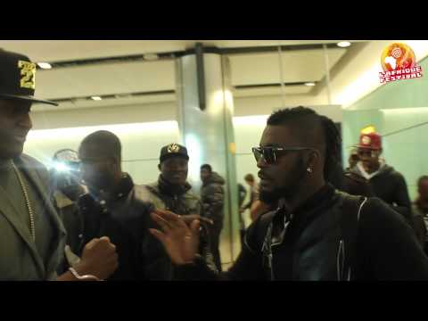 JOSH225OFFICIAL - ARRIVEE DE DJ ARAFAT A LONDON (HEATHROW AIRPORT)