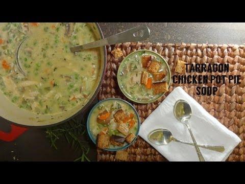 Skinny Kitchen Pot Pie Soup