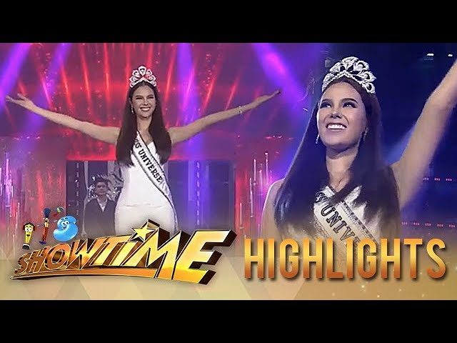 Its Showtime Welcome Home Miss Universe 2018 Catriona Gray