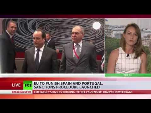 EU launches sanctions procedures against Spain & Portugal
