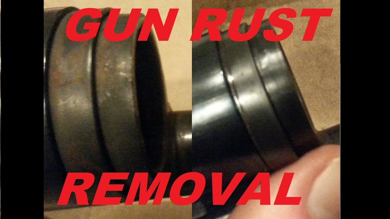 How To Remove Rust From a Gun With Rem Oil and Steel Wool, Get it Clean Off  of a Blued Barrel