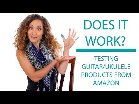Testing 5 Guitar/Ukulele Accessories from Amazon - Do They Work?