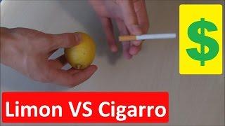 Apuesta que Nunca Perderás - Cortar un Limón con un Cigarro