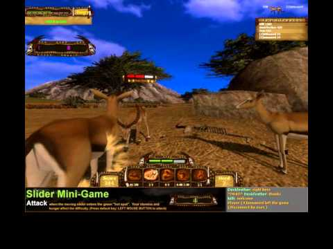 I, Predator Cheetah Vs Gazelle Gameplay /W Commentary
