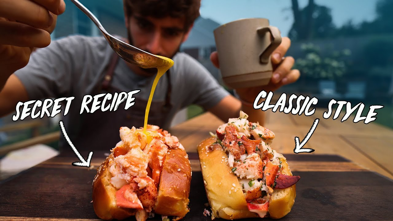 Using Expert Techniques to Make the Perfect Lobster Roll 🦞🦞🦞