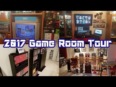 2017 Game Room Tour: Complete Overview of Our Video Game Collection