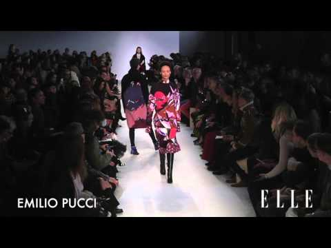 Emilio Pucci  FW 2016 collection