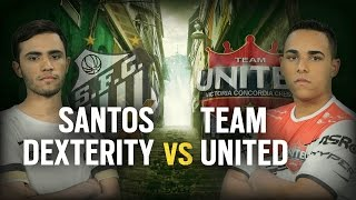 [BR] SANTOS DEX vs. TEAM UNITED | Play Day #7 | EliteSix S03 (PC)
